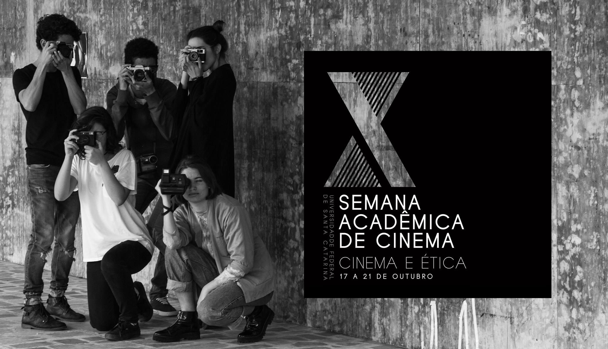 Divulgação da X Semana Acadêmica de Cinema - 17 a 21/10/2016
