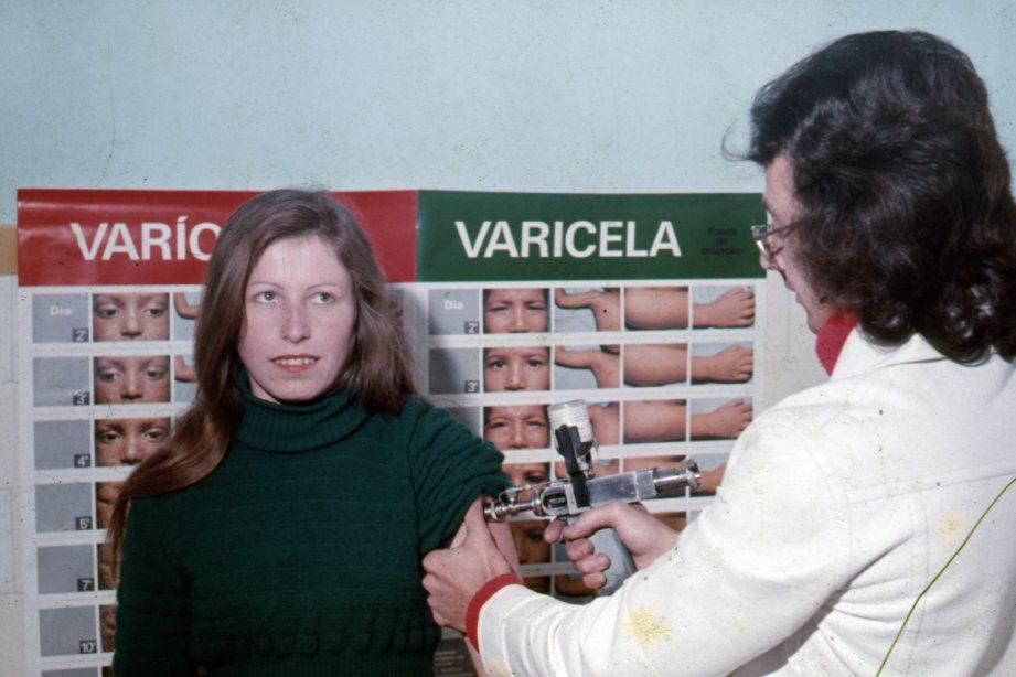 Campanha de vacinação contra varíola